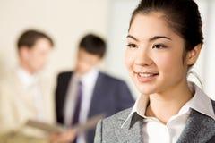 Happy consultant Stock Photo