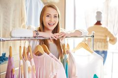 Happy consumer Royalty Free Stock Photos