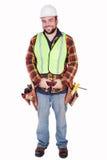Happy Contractor Royalty Free Stock Photos