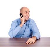 Happy conversation Stock Images