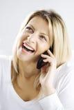 Happy conversation Stock Image