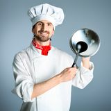 Happy cook Royalty Free Stock Photo