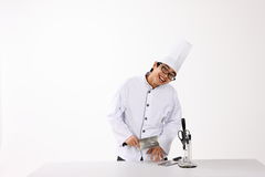 Happy cook Royalty Free Stock Images