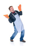 Happy cook Royalty Free Stock Image