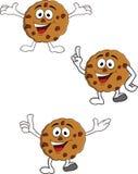 Happy cookies cartoon Stock Images