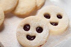 Happy cookies Stock Photos