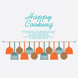 Happy Cooking Stock Photos