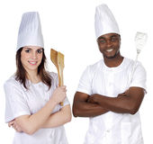 Happy cooks Team Royalty Free Stock Photography