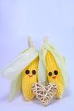 Happy corns Stock Image