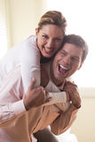 Happy couple Stock Photos
