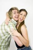 The happy couple Stock Photos