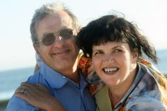 Happy couple. Happy mature couple Royalty Free Stock Photo