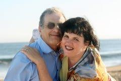 Happy couple. Happy mature couple Stock Photos