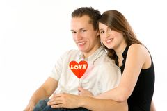 Happy Couple stock photo
