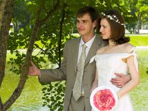 Happy couple 2 Stock Photography