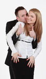 Happy couple. Image of a young happy couple having fun together Royalty Free Stock Photo