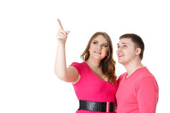 Happy couple. Royalty Free Stock Image