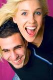 Happy couple Royalty Free Stock Photo