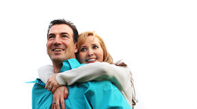 Happy couple royalty free stock photography
