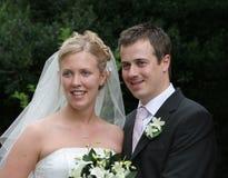 The Happy Couple stock image