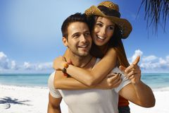 Free Happy Couple At Summertime Stock Photos - 40486063
