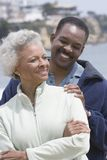 Happy Couple On Beach Stock Image
