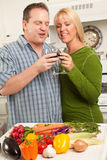 Happy Couple Enjoying An Evening Royalty Free Stock Photo