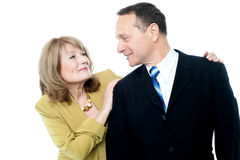 Happy couple enjoying their time Stock Image