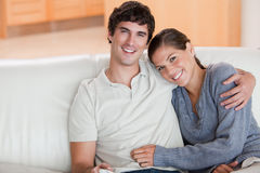 Happy couple enjoying their time together Stock Images