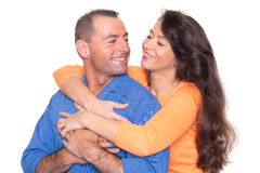 Happy couple royalty free stock photo
