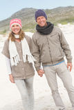 Happy couple having fun together Stock Images