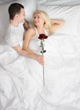 Happy couple at honeymoon. Picture of a Happy couple at honeymoon Stock Images