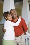 Happy couple hugging. stock photography