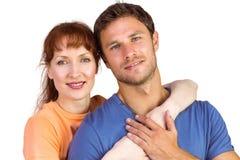 Happy couple looking at camera Royalty Free Stock Image