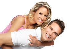 Happy couple in love Royalty Free Stock Image