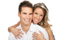 Happy couple in love Stock Photography