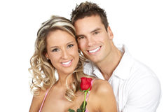 Happy couple in love Royalty Free Stock Images
