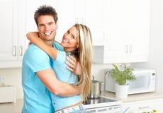 Happy couple in love Stock Image