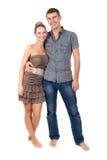 Happy couple in love. Stock Photos