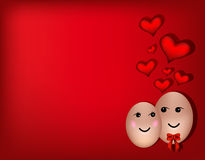 A happy couple in love Royalty Free Stock Image