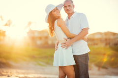 Happy couple in love Royalty Free Stock Photos