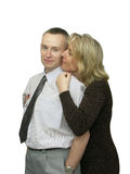 Happy couple in love Royalty Free Stock Photography