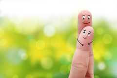 A happy couple Royalty Free Stock Photography