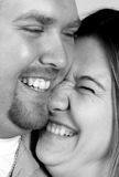 Happy Couple make each other laugh Stock Image