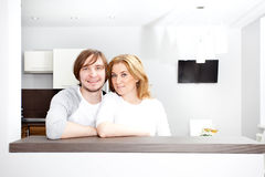 Happy Couple  In New Home Royalty Free Stock Image