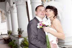 Happy couple outdoor Stock Photos
