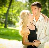 Happy couple, outdoors Stock Photo