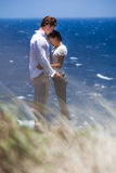 Happy Couple in Paradise Royalty Free Stock Photography