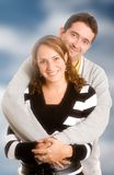 Happy couple portrait Royalty Free Stock Image