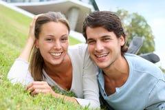 Happy couple portrait Stock Photography